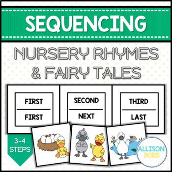 Nursery Rhymes & Fairy Tales Sequencing