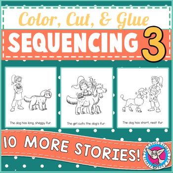 Sequencing 3: Color, Cut & Glue