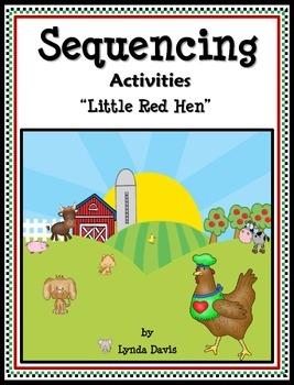 Sequencing Activities - Little Red Hen