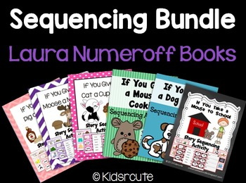 Sequencing Bundle- Laura Numeroff Books