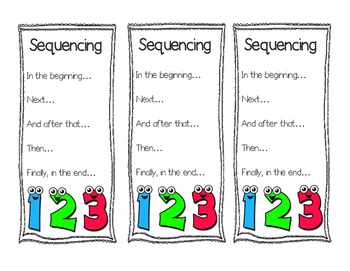 Sequencing Bookmarks