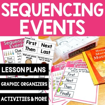 Comprehension Skill: Sequencing Events: 10 Printable Activ