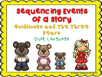 Sequencing Events of a Story- Goldilocks and the Three Bea