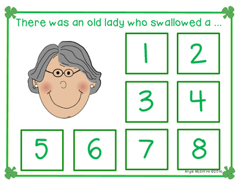 Sequencing FREEBIE: There Was An Old Lady Who Swallowed A Clover