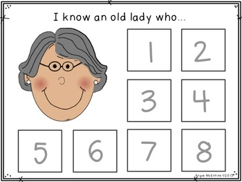 Sequencing FREEBIE: I Know An Old Lady Who Swallowed Some Leaves