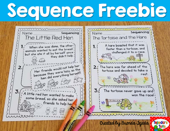 Sequencing Freebie