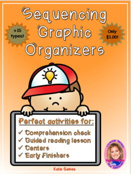 Sequencing Graphic Organizers- $1.00 ONLY!