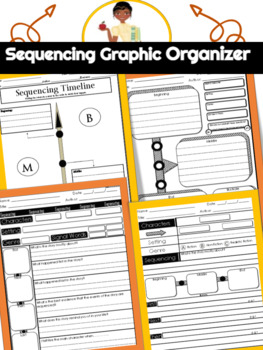 Sequencing Graphic Organizers- Guided Reading