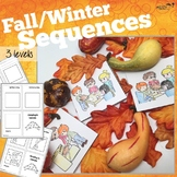 3 Step Sequencing Mini-books for Fall/Winter