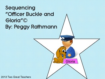 """Sequencing """"Officer Buckle and Gloria"""""""