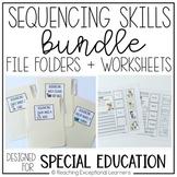Sequencing Skills BUNDLE- Special Education