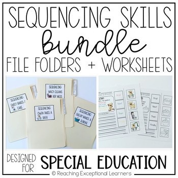 Sequencing Skills BUNDLE- Special Education