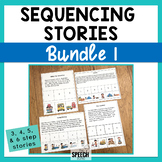 Sequencing Stories Bundle 1 - 3 & 4 Step Sequencing Stories