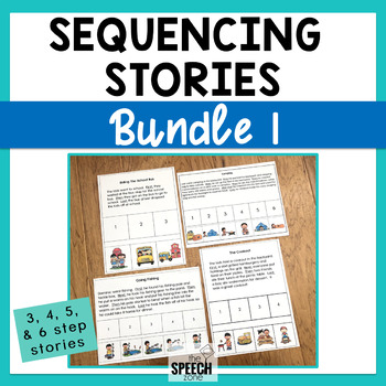 Sequencing Stories Bundle - 3 & 4 Step Sequencing Stories