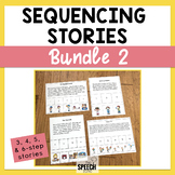 Sequencing Stories Bundle Set 2 - 3 & 4 Step Stories