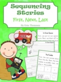Sequencing Stories ~ First, Next, Last