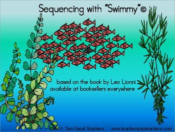 """Sequencing """"Swimmy"""" by Leo Lionni"""