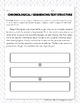 Sequencing Text Structure: Paragraph Analysis and Writing