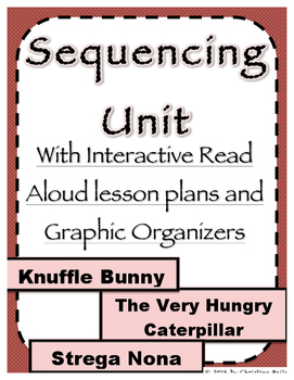 Sequencing Unit with Lesson Plans and Graphic Organizers