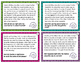 Sequencing - task cards for scoot or review with or withou