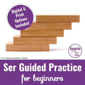 Ser Guided Practice (with key)