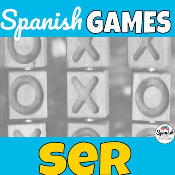Ser: Spanish Tic-Tac-Toe Game
