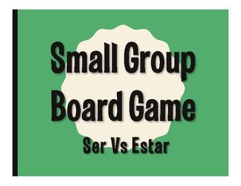 Ser Vs Estar Board Game