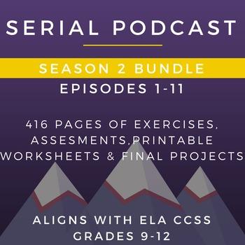 Serial Podcast Season 2 Bundle, Episodes 1-11 | Lesson Pla