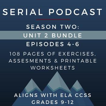 Serial Podcast Season 2: Unit 2 Bundle, Episodes 4-6 | Les