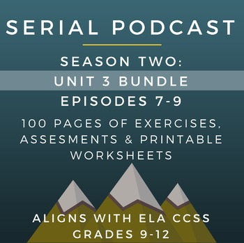 Serial Podcast Season 2: Unit 3 Bundle, Episodes 7-9 | Les