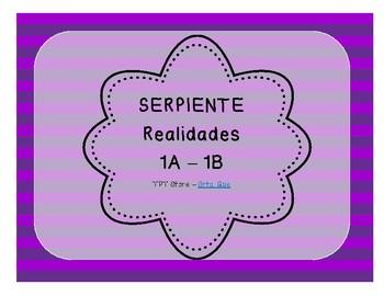 Serpiente (Board Game) Realidades I - 1A & 1B bundle