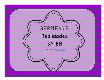 Serpiente (Board Game) Realidades I - 8A & 8B bundle