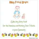 Service Learning Baby Food Drive