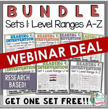 Set One A-Z Bundle RESEARCH BASED!  *** WEBINAR EXCLUSIVE DEAL