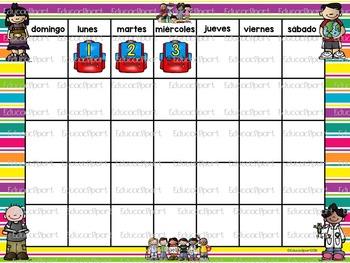 Set de Calendario - Melonheadz
