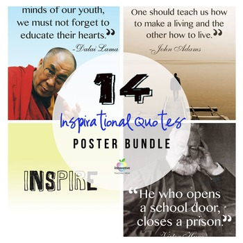 Inspirational Quotes Poster Bundle