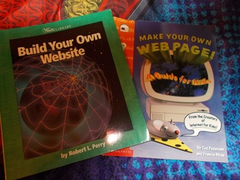 Set of 2 Books--Build Your Own Website & Make Your Own Web Page!