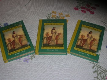 Set of 3 Cleopatra VII: Daughter of the Nile