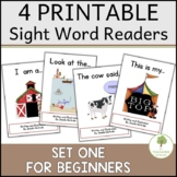 Set of 4 Printable Early Readers to reinforce Dolch Sight Words