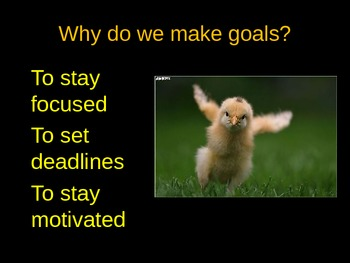Setting Goals PowerPoint