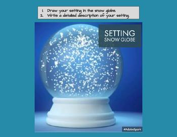 Setting Snow Globe