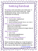 Setting and Central Idea Handout and Graphic Organizer