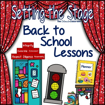 Setting the Stage: Back to School Bundle - Organization, R