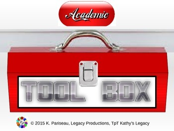 Setting up an Academic Toolbox document board for teens &