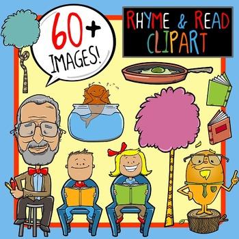 Rhyme & Read Clip Art