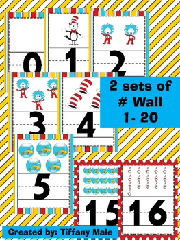 Seuss Inspired Numbers