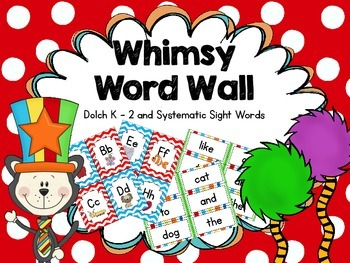 Whimsy Word Wall