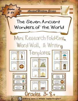 Seven Ancient Wonders of the World Mini Research & Analysi