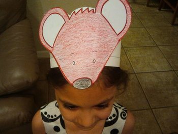 Seven Blind Mice English Days of the Week Character Hat Patterns