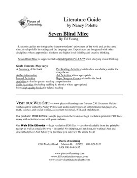 Seven Blind Mice Literature Guide